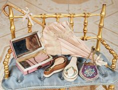 Cotillion - The Susan Whittaker Collection : 219 19th Century French Miniature Accessories for Poupees