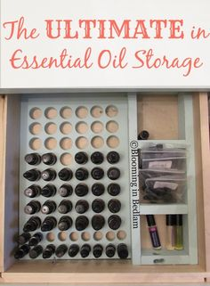 Ultimate Essential Oil Storage