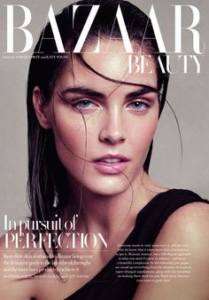 UK Harper's Bazaar November 2012 Beauty Editorial : Hilary Rhoda : Paola Kudacki | Fashion Editorials | A Photographic Collection of Trending Fashion Magazine Editorials:
