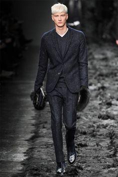 Benjamin Jarvis |FendiFall/Winter 2014 |Milan Fashion Week