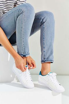Nike Leather Racquette Sneaker - Urban Outfitters