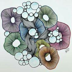 Zentangle Drawings, Doodles Zentangles, Doodle Drawings, Tangle Doodle, Tangle Art, Doodle Patterns, Zentangle Patterns, Drawings Pinterest, Doodle Art Journals