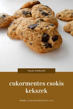 Cookie Recipes, Diet Recipes, Healthy Recipes, Kaja, Health Eating, Healthy Lifestyle, Clean Eating, Sweets, Snacks