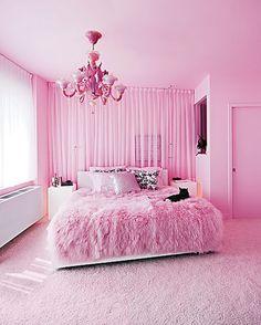 Pink-Rugs-in-Beautiful-Decoration-Modern-Pink-Bedroom-Design-Ideas.jpg (425×531) #Pinkdecor #Forgirls