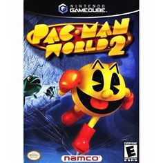 Today in gaming history  March 13, 2002 was the release of Pac-Man World 2 on Nintendo GameCube.  Defend Pac Land and keep the Golden Fruit safe from Ghosts in this modern 3D installment of the classic 'Pac-Man' arcade game. In 'Pac-Man World 2' for GameCube, you help Pac-Man fight the Ghosts through over 20 levels consisting of 15 different mazes and six worlds. True to his arcade origins, Pac-Man eats dots and collects fruit, but he also boasts abilities such as running, jumping…