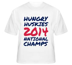 02cce5622 Hungry Huskies 2014 National Champs T Shirt Connecticut NCAA Basketball # uconn #basketball #hungryhuskies