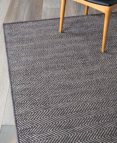 Buy Scandinavian Rugs Online or Visit Our Showrooms To Get Inspired With The Latest Homewares From Armadillo & Co - Herringbone Weave (Charcoal, Limestone) Herringbone Rug, Carpet Remnants, Rustic Vintage Decor, Yellow Sofa, Cool Rugs, Living Furniture, Woven Rug, Soft Furnishings, Area Rugs