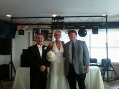 2013 reception, Hicksville, Ohio country club