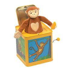 Jack in the Box - Monkey