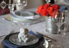 Decoração de Páscoa por Patricia Junqueira {Home, Receber & Baby} para Receber Bem, com muita prataria! www.patriciajunqueira.com.br