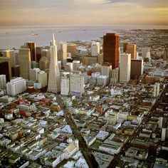 Aerial photographs of San Francisco by Robert Campbell Vacation Destinations, Vacations, San Francisco Travel, California Dreamin', Best Cities, Buildings, Scenery, Places To Visit, City Skylines