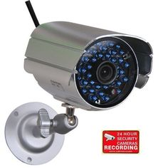 VideoSecu CCTV Day Night Vision Outdoor Color Bullet Home Surveillance Security Camera 36 Infrared IR LEDs with Free Security Warning Decal 1FY by VideoSecu. $18.99. The VideoSecu IR804S camera is an affordable economic day night video security camera. Built-in 6mm lens and 36 infrared illuminators are used for night vision. Capture color pictures by day and black and white images at night. The camera has adjustable bracket can be mounted on wall or ceiling. Weatherproof alum...