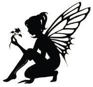 Risultati immagini per fairy silhouette