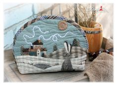(1012) Gallery.ru / Cosmetics bag - Japanese patchwork 2 - lolenya