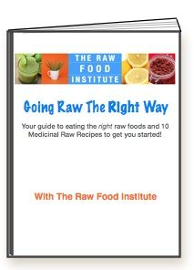 Just got off a webinar with Lisa of the Raw food Institute ( of course she's an IIN grad!) go get her ebook and check out her awesome website