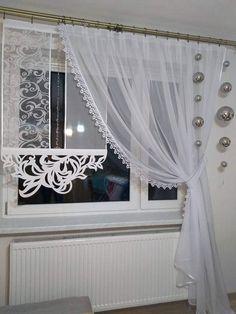 Bette Davis, Curtain Styles, Window Treatments, Windows, Curtains, House, Gardens, Crafty, Couture