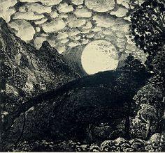 Album Cover: Still Night, Still Light  Samuel Palmer: 'Shepherds under a full moon'    via http://yama-bato.tumblr.com/post/14204921236/once-again-album-cover-still-night-still