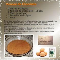 Kikinho Cake & Cook: Mousse de Chocolate
