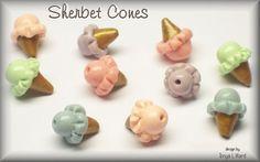 ice cream cone beads - Google Search