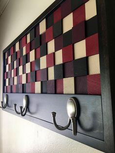 A personal favorite from my Etsy shop https://www.etsy.com/listing/493629452/coat-rack-3d-wall-art-reclaimed-wall-art