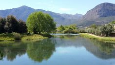 Burgundi Bourgogne in Franschoek - one of the most beautiful wine estates in South Africa. Cape Town, South Africa, Most Beautiful, To Go, Burgundy, African, River, Lifestyle, Places