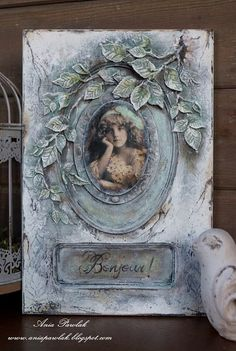 1 million+ Stunning Free Images to Use Anywhere Decoupage Glass, Decoupage Art, Decoupage Vintage, Vintage Art, Mixed Media Canvas, Mixed Media Art, Mix Media, Cold Porcelain Flowers, Plaster Art