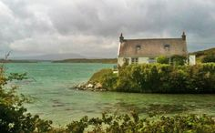 This cottage is on Sherkin island off the coast of West Cork.Ireland has about 60 inhabited islands off its coast. Check out why it is our most favorite cottage! Irish Cottage, Old Cottage, Coastal Cottage, Ireland Vacation, Ireland Travel, Dublin Ireland, Cork Ireland, Ireland Food, Great Places