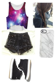 """""""Untitled #28"""" by munao ❤ liked on Polyvore featuring Keds and Uncommon"""