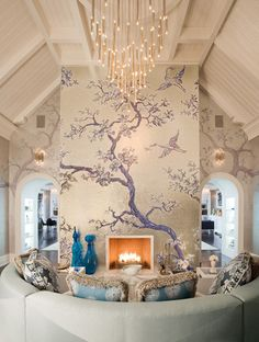 Well done space. Nicole Fuller Interiors