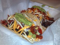 #onetaco is for the flavor #twotacos are to get you full! Which #tacos would you order? #mixandmatch