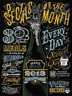 The Lost Art of Hand Lettering Hand crafted chalkboard lettering by Chris Yoon, an Atlanta-based graphic designer specialized in illustration and typography. Description from pinterest.com. I searched for this on bing.com/images