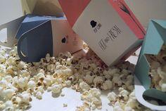 Popcorn Project by Anna Trympali, via Behance