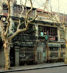 Shanghai, China-former French Concession