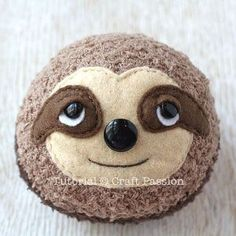 Fantasting Make a Stuffed Animal Ideas Sewing Stuffed Animals sock sloth fac. Fantasting Make a Stuffed Animal Ideas Sewing Stuffed Animals sock sloth face – Sew cute Homemade Stuffed Animals, Sewing Stuffed Animals, Stuffed Animal Patterns, Sock Crafts, Felt Crafts, Fabric Crafts, Sewing Toys, Sewing Crafts, Sewing Projects