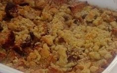 Bread Pudding With Crumb Topping Recipe - Details, Calories, Nutrition Information | RecipeOfHealth.com