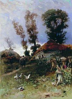 Николай Егорович Маковский (1842-1886) «Пасека» 1882 Location: Харьковский художественный музей