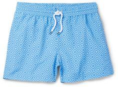Frescobol Carioca Sidewalk Slim-Fit Short-Length Printed Swim Shorts
