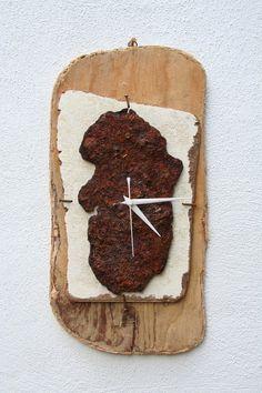 driftwood wall clocks - Google Search