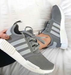 ❤️ grey Adidas shoes