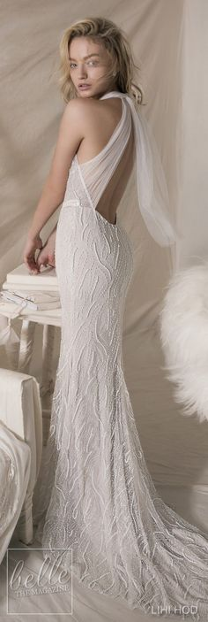 Wedding Dresses by Lihi Hod Fall 2018 Couture Bridal Collection - Melissa #WeddingDress
