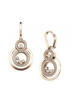 Gojee - Gold Happy 8 Earrings by Chopard