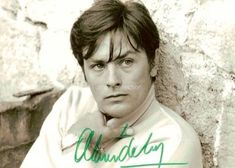 "Alain Delon, on the set of ""Diaboliquement vôtre"", 1967  Credits : Michael Holtz Estate / Photo 12 www.photo12.com"