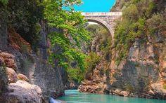 Isparta ve Antalya'nın doğal güzelliği Köprülü Kanyon!