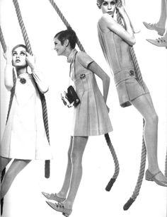 TWIGGY 1960s mod vintage fashion, Twiggy style, swinging 60s, 1960s style,