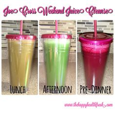 VIDEO #2 ~ Joe Cross Weekend Juice Cleanse ~ Lunch, Afternoon and Pre-Dinner Juices