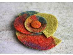 Felt brooch | Flickr - Photo Sharing!