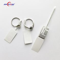 MF Ultralight C RFID Jewelry Tag / Label / Sticker