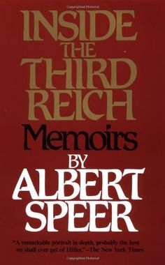 Inside the Third Reich by Albert Speer,http://www.amazon.com/dp/0684829495/ref=cm_sw_r_pi_dp_nFEHtb03G940YYWG