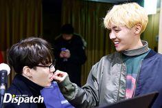 BTS practice for WINGS TOUR in Seoul Suga & J-Hope   민윤기 & 정호석
