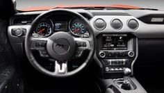Photographs of the 2015 Ford Mustang GT. An image gallery of the 2015 Ford Mustang GT. 2015 Ford Mustang, Nuevo Ford Mustang, Ford Mustang Interior, Ford Mustang Ecoboost, Ford Mustang For Sale, Mustang Cars, Ford 2016, Mini Cooper Hardtop, Pony Car